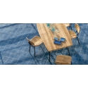 jídelní židle a stůl k bazénu