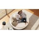 kožené křeslo, pohodlné křeslo, moderní křeslo, otočné křeslo, designový nábytek