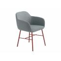 Pohodlné křesílko Myra od značky Metlmobil je kombinací moderního designu a stylu. Židle pochází z rodiny Myra, kde jsou židle k baru, jídelní židle i křesílka. Navíc tato varianta vyhrála Reddot Design Award 2017.