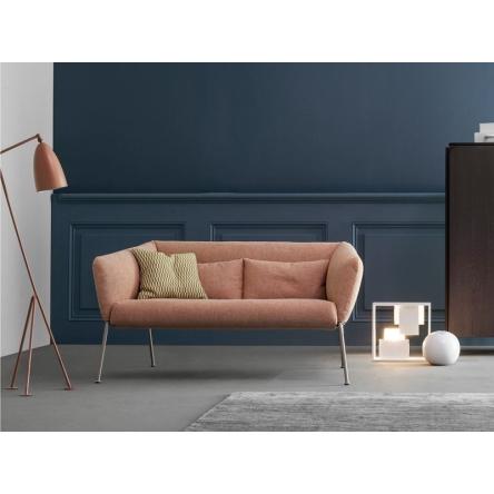 italské sofá, italská sedačka, moderní sedačka, dvojsedačka, menší pohovka, designový nábytek
